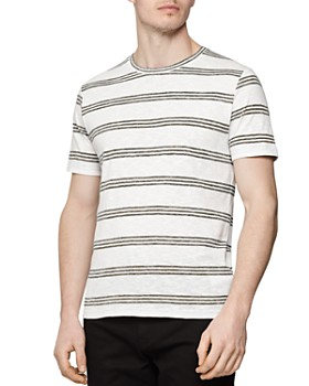 REISS - Felton Striped Crewneck Tee