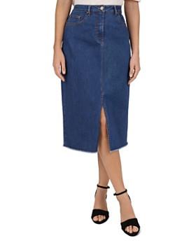 Gerard Darel - Iden Denim Midi Skirt
