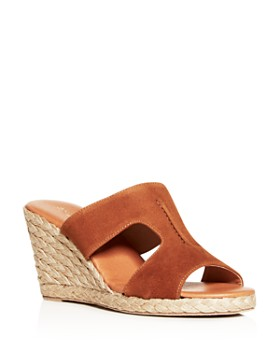 Andre Assous - Women's Alana Espadrille Wedge Slide Sandals