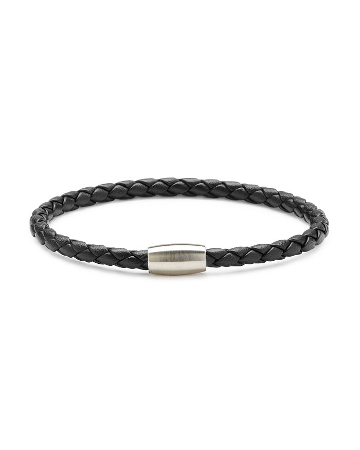 LINK UP - Braided Leather Cord Bracelet