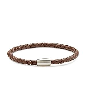 Braided Leather Cord Bracelet