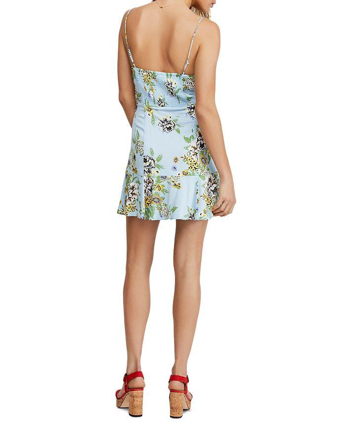 ec38474e6d9d Free People Happy Heart Ruched Mini Dress | Bloomingdale's