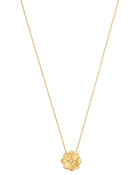 Marco Bicego - 18K Yellow Gold Petali Pendant Necklace, 16.5""