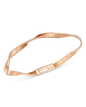 Marco Bicego 18K Rose Gold Marrakech Wavy Bracelet