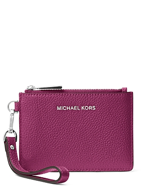 Michael Michael Kors Accessories SMALL LEATHER WRISTLET