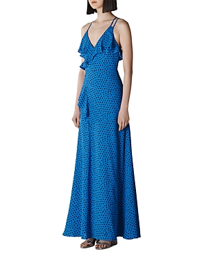 Whistles Tops LUNAR-PHASE-PRINTED GOWN