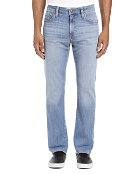 Mavi - Zach Straight Fit Jeans in Light Portland