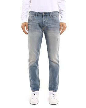Diesel - Bazer Straight Fit Jeans in Denim