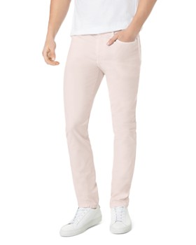 Joe's Jeans - Feather Asher Slim Fit Jeans in Pink Sand