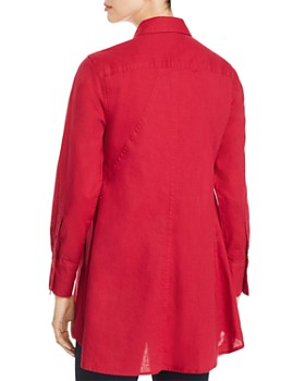 Donna Karan - High/Low Tunic Shirt