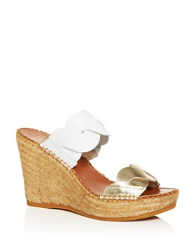 Andre Assous - Women's Rumy Platform Wedge Espadrille Side Sandals