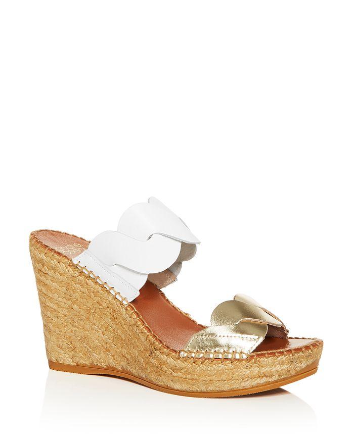 Andre Assous - Women's Rumy Platform Wedge Espadrille Side Sandals