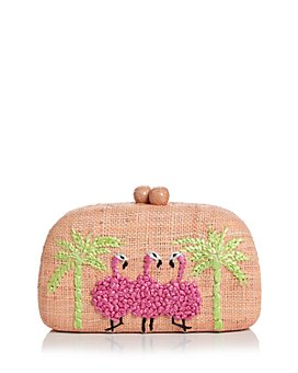 SERPUI - Mia Flamingos Clutch