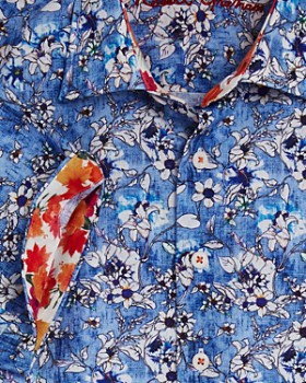 Robert Graham - Boys' Cameron Floral Button-Down Shirt - Big Kid