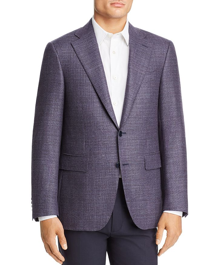 Canali - Capri Textured Mélange Slim Fit Sport Coat