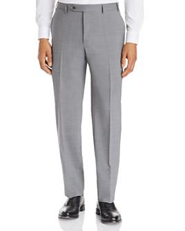 Canali - Siena Stretch Wool Classic Fit Dress Pants