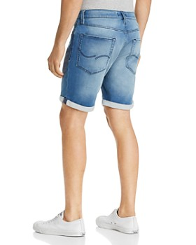 JACK + JONES - Icon Regular Fit Denim Shorts in Light Blue