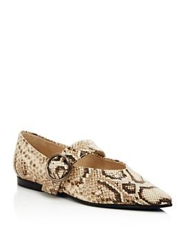 Freda Salvador - Women's Pointed Toe Flats