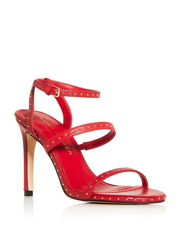 KURT GEIGER LONDON - Women's Portia Studded High-Heel Sandals