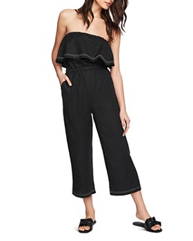 1.STATE - Strapless Cropped Jumpsuit