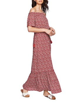 0068873a89 STATE - Floral Off-the-Shoulder Maxi Dress ...