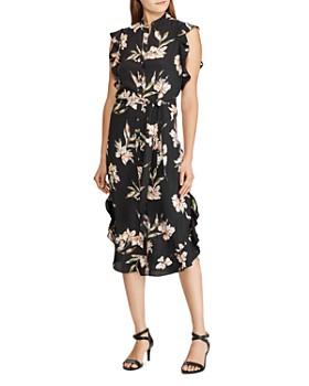 Ralph Lauren - Floral-Print Shirt Dress