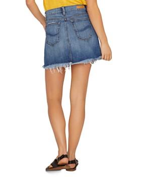 Sanctuary - Distressed Denim Mini Skirt