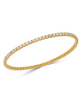 Roberto Coin - 18K Yellow Gold Diamond Classics Bangle Bracelet