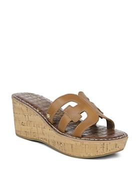 3890c4a38 Sam Edelman - Women's Regis Platform Wedge Sandals ...