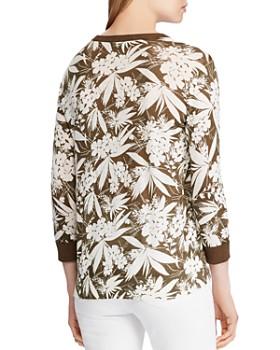 Ralph Lauren - Botanical-Print Sweater