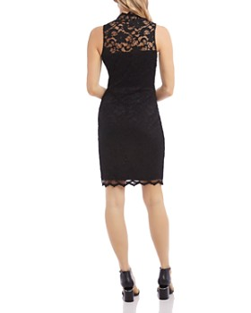 Karen Kane - Sleeveless Lace Sheath Dress