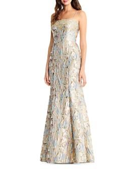Aidan Mattox - Jacquard Mermaid Gown