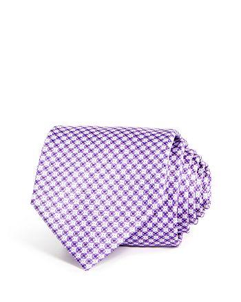 The Men's Store at Bloomingdale's - Geometric Florette Silk Classic Tie - 100% Exclusive