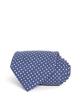 Drake's - Dot Silk Classic Tie