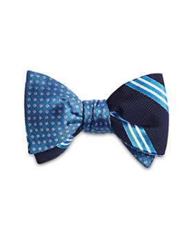 Brooks Brothers - Stripes Reversible Bow Tie
