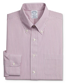 Brooks Brothers - Bengal Stripe Classic Fit Button-Down Shirt