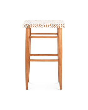 SAFAVIEH - Kaleo Woven Leather Barstool