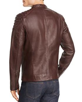 Superdry - Leather Moto Jacket