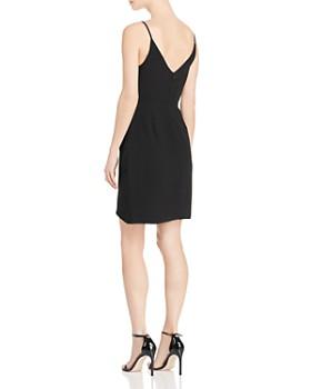 Amanda Uprichard - Giovanni V-Neck Draped Mini Dress