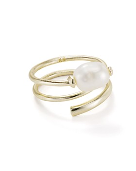 Kendra Scott - Jayla Cultured Freshwater Pearl Adjustable Wrap Ring