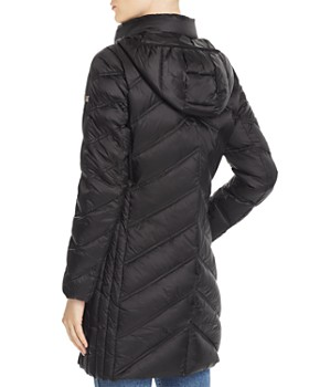 MICHAEL Michael Kors - Chevron Packable Down Coat