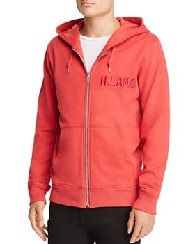 Helmut Lang - Tonal Logo-Embroidered Hoodie