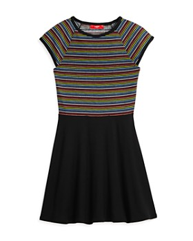 AQUA - Rainbow-Stripe Dress, Big Kid - 100% Exclusive