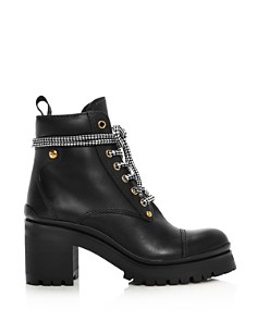 Miu Miu - Women's Never Mind Block Heel Boots