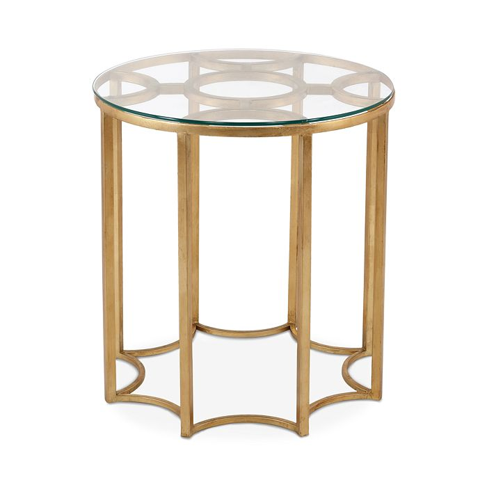 Safavieh Ivana Gold Leaf Gl Side Table