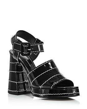 Proenza Schouler - Women's Platform Block-Heel Sandals