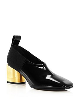 Proenza Schouler - Women's Square-Toe Block-Heel Pumps