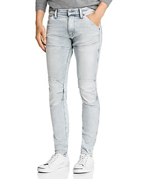 G-STAR RAW - 5620 3-D Skinny Fit Jeans in Sun Faded Gray