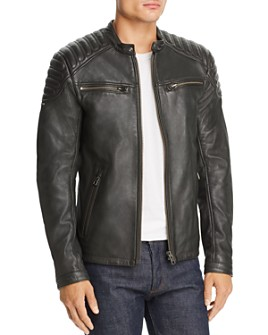 Superdry - Leather Moto Jacket