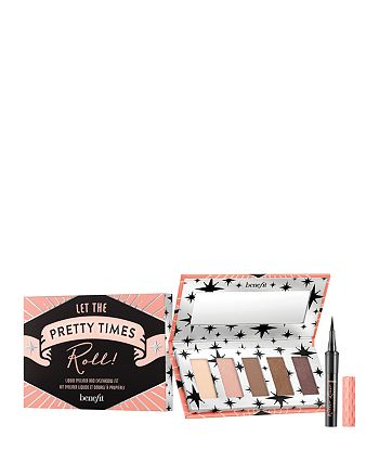 Benefit Cosmetics - Let the Pretty Times Roll Liquid Eyeliner & Eyeshadow Set ($32 value)